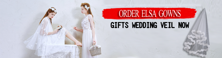 order wedding dress we will gift a wedding veil free