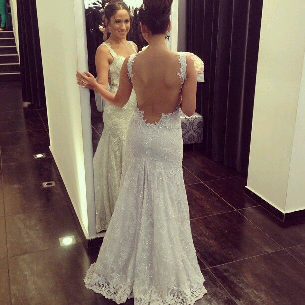 Backless Wedding Gowns For Sale: T10