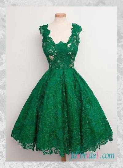 Retro prom dress
