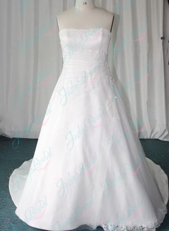 JW11054 plus size destination wedding dress
