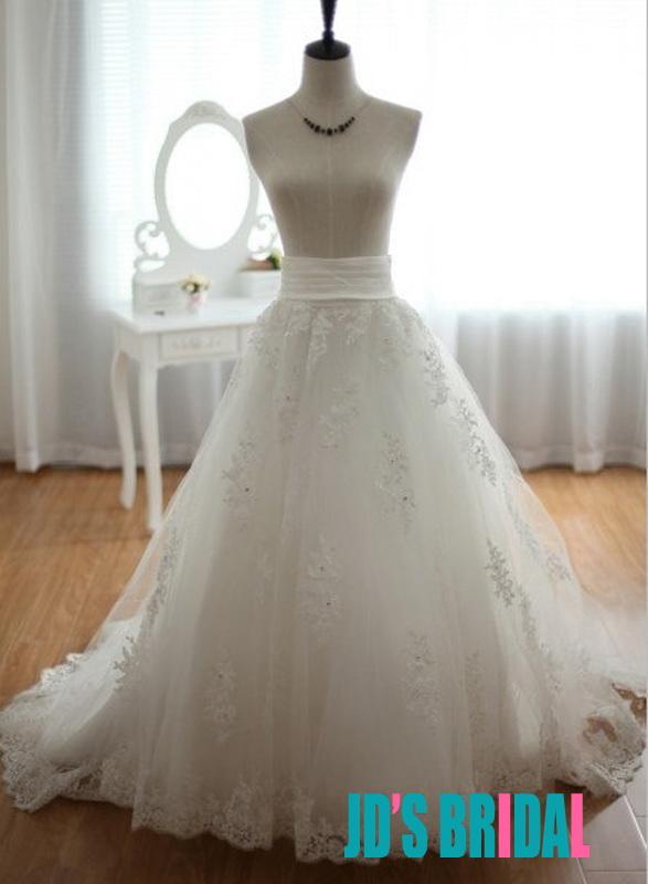 97b8022d96091e JS405 stunning cascade layers organza bridal wedding skirt :