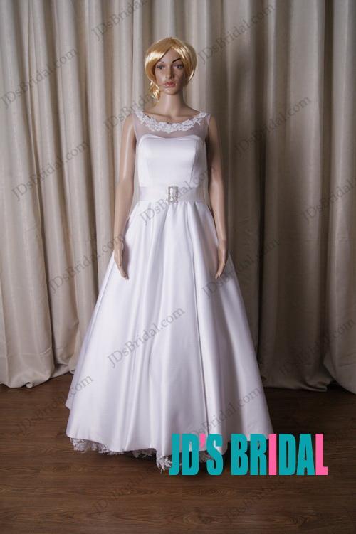 1950s Inspired Wedding Dresses 12