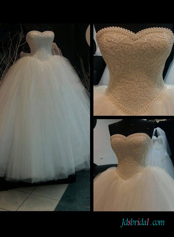 H1412 Vintage fairytale princess basque ball gown wedding dress