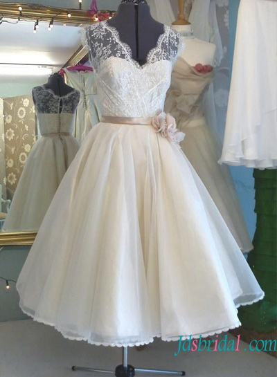 Vintage Inspired Tea Length Wedding Dresses 1950s 1960s Online Shop