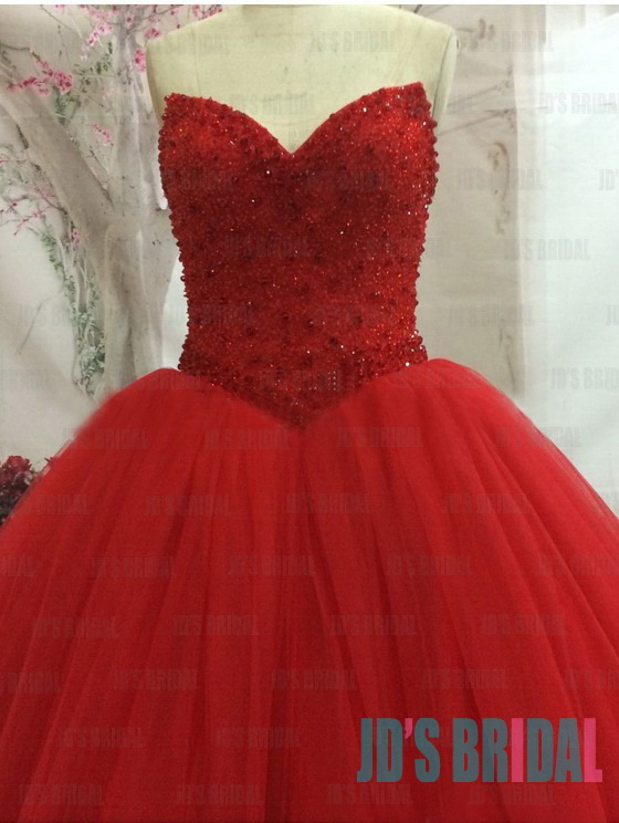 36db05d6 JW16182 sexy sweetheart neck bling sequined bodice red ball gown wedding  prom dress