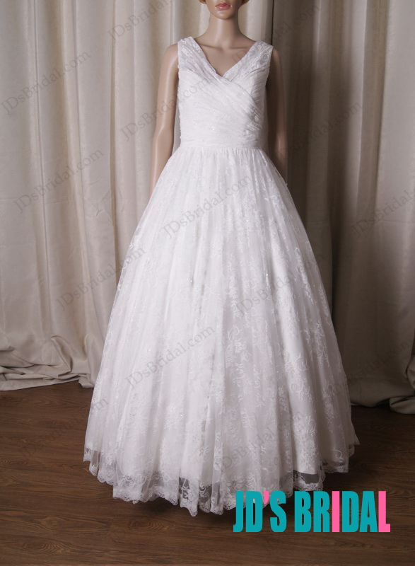 LJ217 Rustic country inspired lace short style wedding dresses