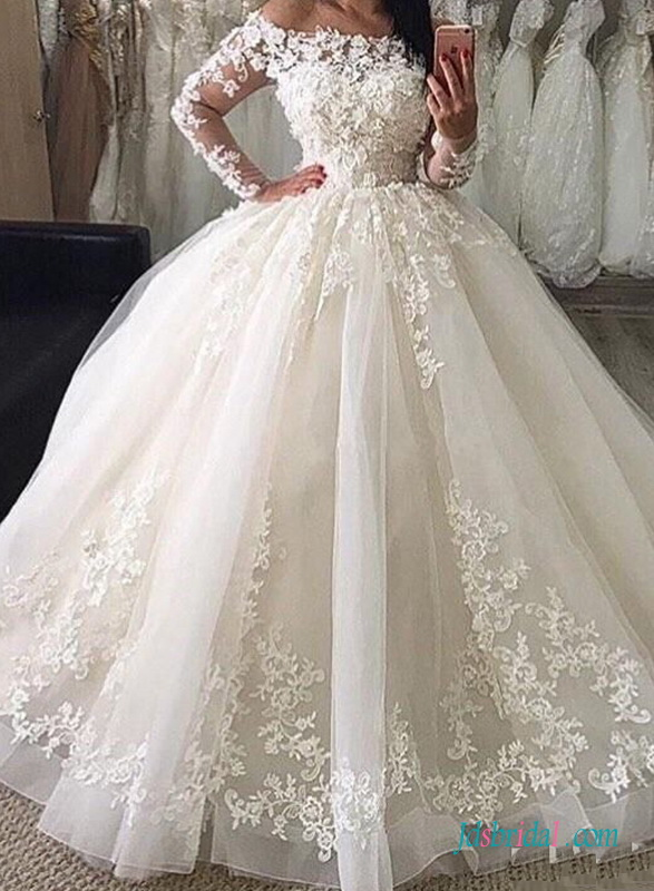 2019 Princess Ball Gown For Wedding
